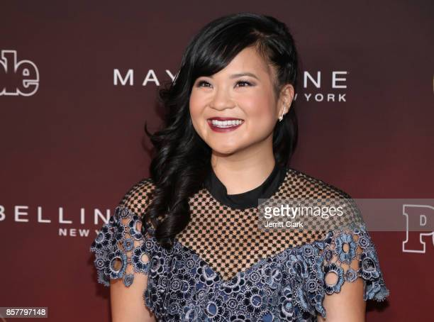 Kelly Marie Tran attends People's 'Ones To Watch' at NeueHouse Hollywood on October 4 2017 in Los Angeles California