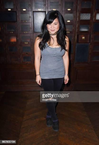 Kelly Marie Tran attends The ELLE Super Bowl Presented by AG on October 13 2017 in Los Angeles California
