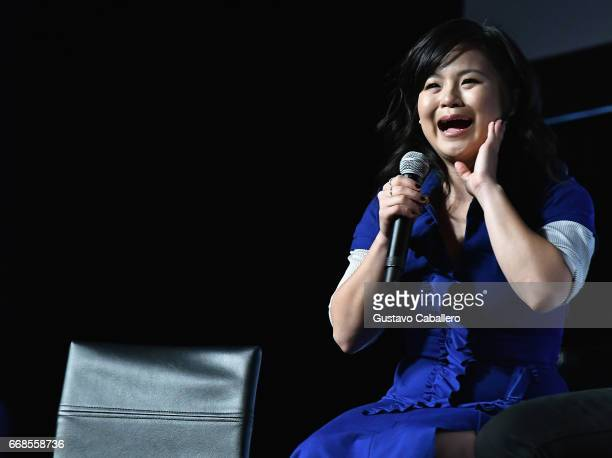 Kelly Marie Tran attends the Star Wars Celebration day 02 on April 14 2017 in Orlando Florida