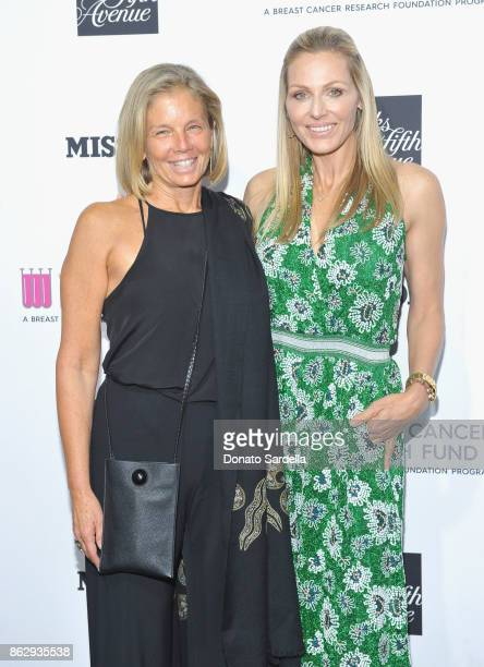 Kelly Meyer and WCRF Founder Jamie Tisch at SAKS FIFTH AVENUE and WOMENS CANCER RESEARCH FUND celebration of KEY TO THE CURE with MISSONI at Mr Chow...