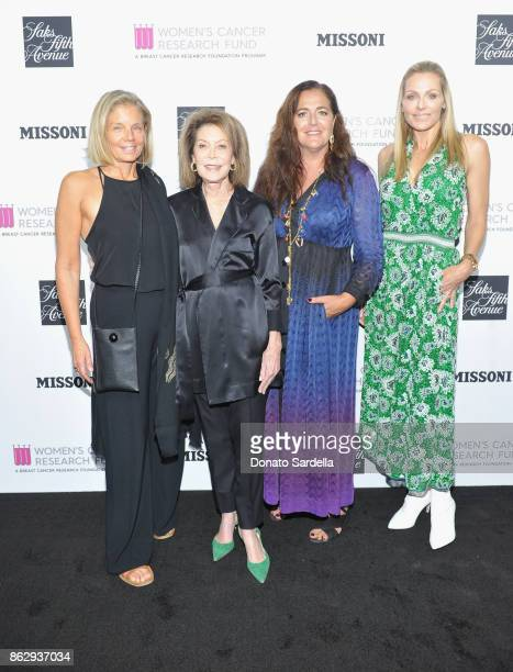 Kelly Meyer WCRF CoFounder Marion Laurie Creative Director Missoni Angela Missoni and WCRF Founder Jamie Tisch at SAKS FIFTH AVENUE and WOMENS CANCER...