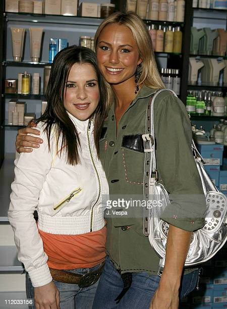 Kelly Monaco and Stacy Keibler during Rebel Yell Spring Launch with New Partner Guy Oseary Inside at Kitson in Beverly Hills California United States
