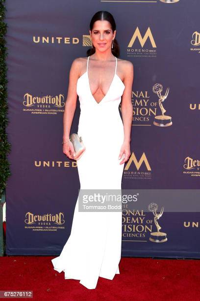 Kelly Monaco attends the 44th Annual Daytime Emmy Awards at Pasadena Civic Auditorium on April 30 2017 in Pasadena California