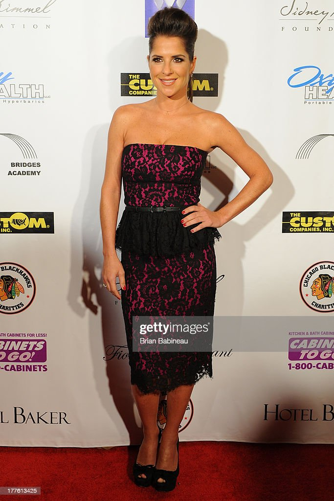 <a gi-track='captionPersonalityLinkClicked' href=/galleries/search?phrase=Kelly+Monaco&family=editorial&specificpeople=3958054 ng-click='$event.stopPropagation()'>Kelly Monaco</a> attends the Dancing with the Stars Charity event hosted by Jenny McCarthy on August 24, 2013 at Hotel Baker in St Charles, Illinois.