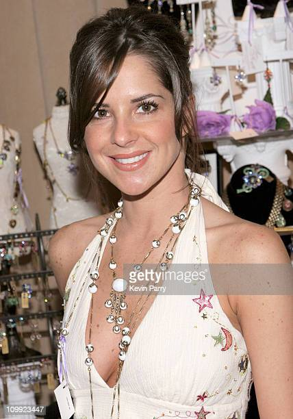 Kelly Monaco during 33rd Annual Daytime Emmy Awards Gift Suite Day 1 in Los Angeles California United States