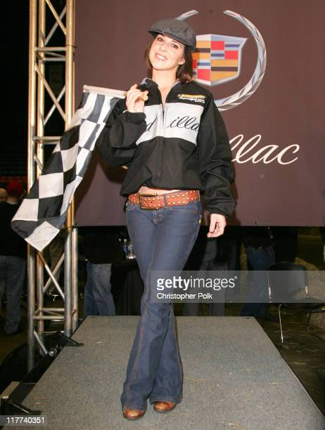 Kelly Monaco during Super Bowl XL Fourth Annual Cadillac Super Bowl Grand Prix at Michigan State Fair Grounds in Detroit Michigan United States