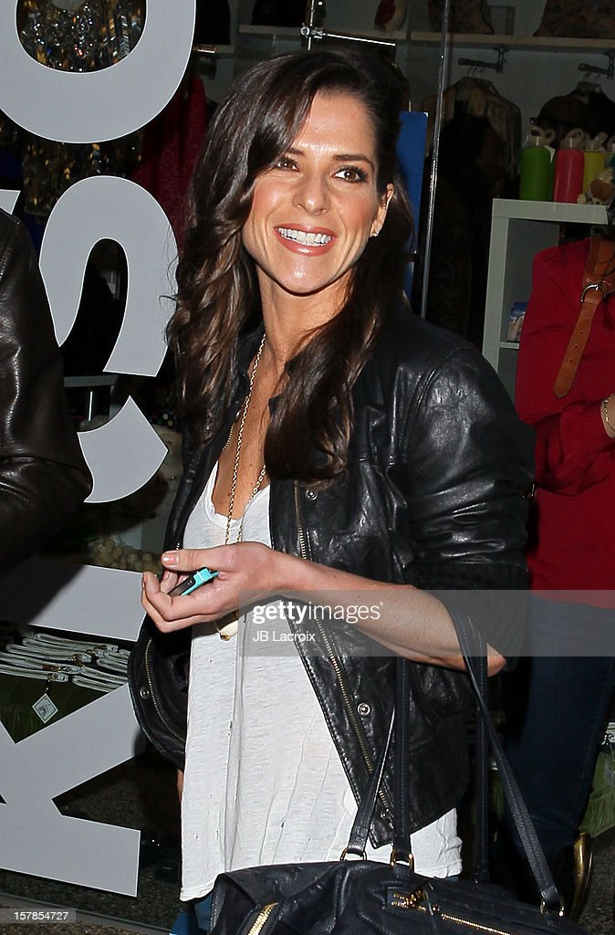 Kelly Monaco is seen on December 6, 2012 in Los Angeles, California.