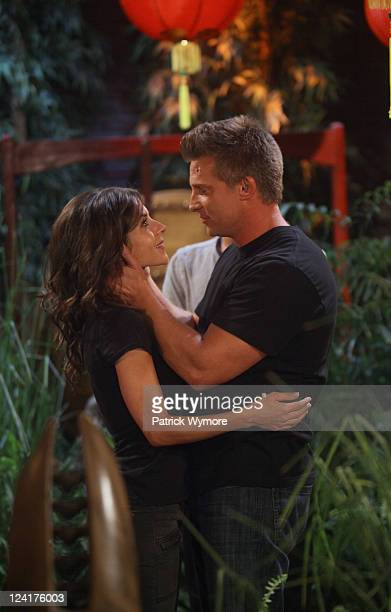 HOSPITAL Kelly Monaco Teddy Chen Culver and Steve Burton in a scene that airs the week of September 19 2011 on ABC Daytime's 'General Hospital'...