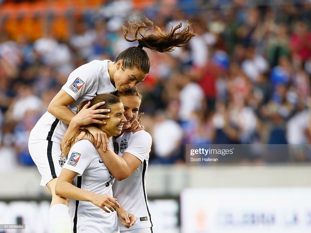 Canada v United States: Final - 2016 CONCACAF Women's Olympic Qualifying