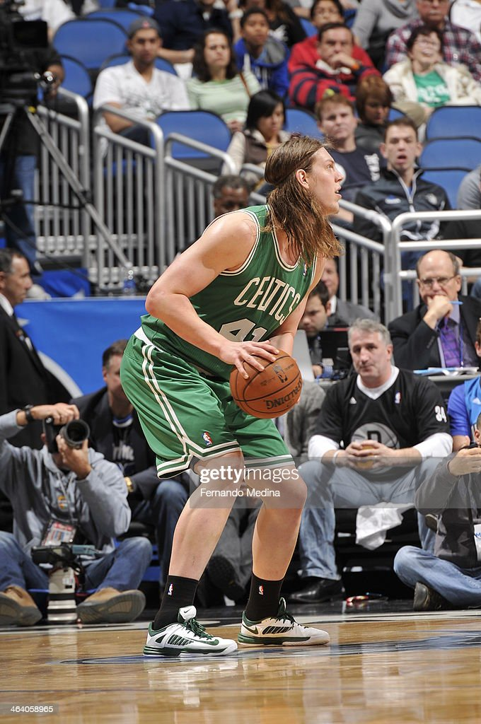 <a gi-track='captionPersonalityLinkClicked' href=/galleries/search?phrase=Kelly+Olynyk&family=editorial&specificpeople=5953512 ng-click='$event.stopPropagation()'>Kelly Olynyk</a> #41 of the Boston Celtics looks to shoot the ball against the Orlando Magic during the game on January 19, 2014 at Amway Center in Orlando, Florida.
