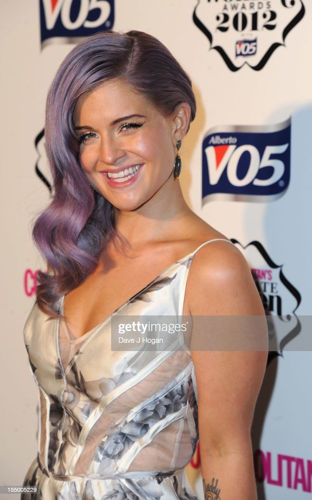 Kelly Osborne attend the Cosmopolitan Ultimate Woman of the Year awards at Victoria & Albert Museum on October 30, 2012 in London, England.