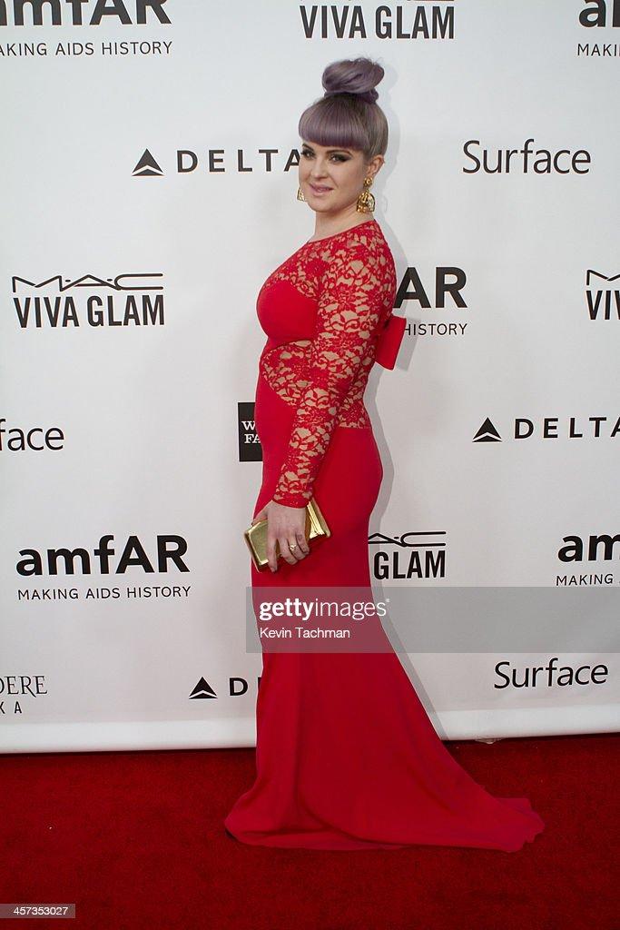 Kelly Osborne attends the 2013 amfAR Inspiration Gala Los Angeles at Milk Studios on December 12, 2013 in Los Angeles, California.