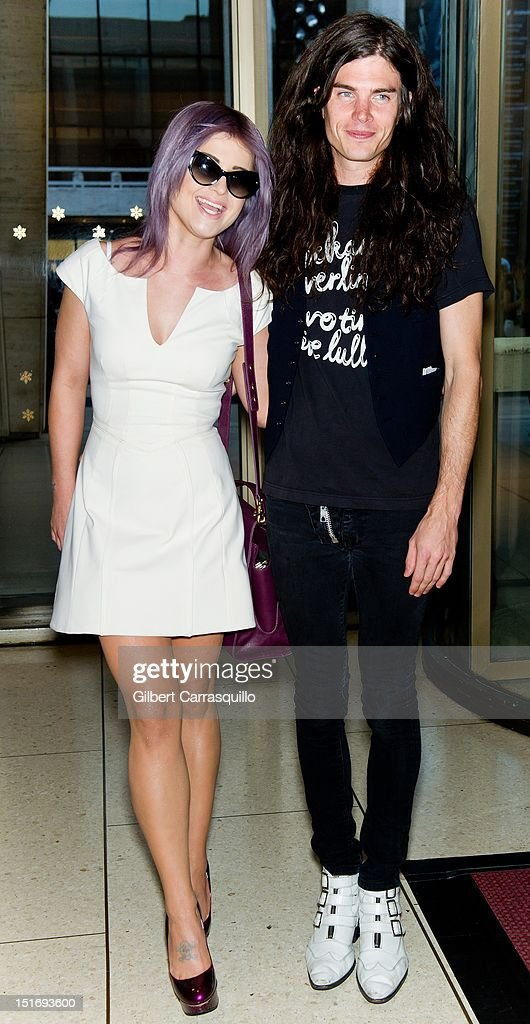 <a gi-track='captionPersonalityLinkClicked' href=/galleries/search?phrase=Kelly+Osbourne&family=editorial&specificpeople=156416 ng-click='$event.stopPropagation()'>Kelly Osbourne</a> and Boyfriend Matthew Mosshart are seen around Lincoln Center during Spring 2013 Mercedes-Benz Fashion Week on September 9, 2012 in New York City.