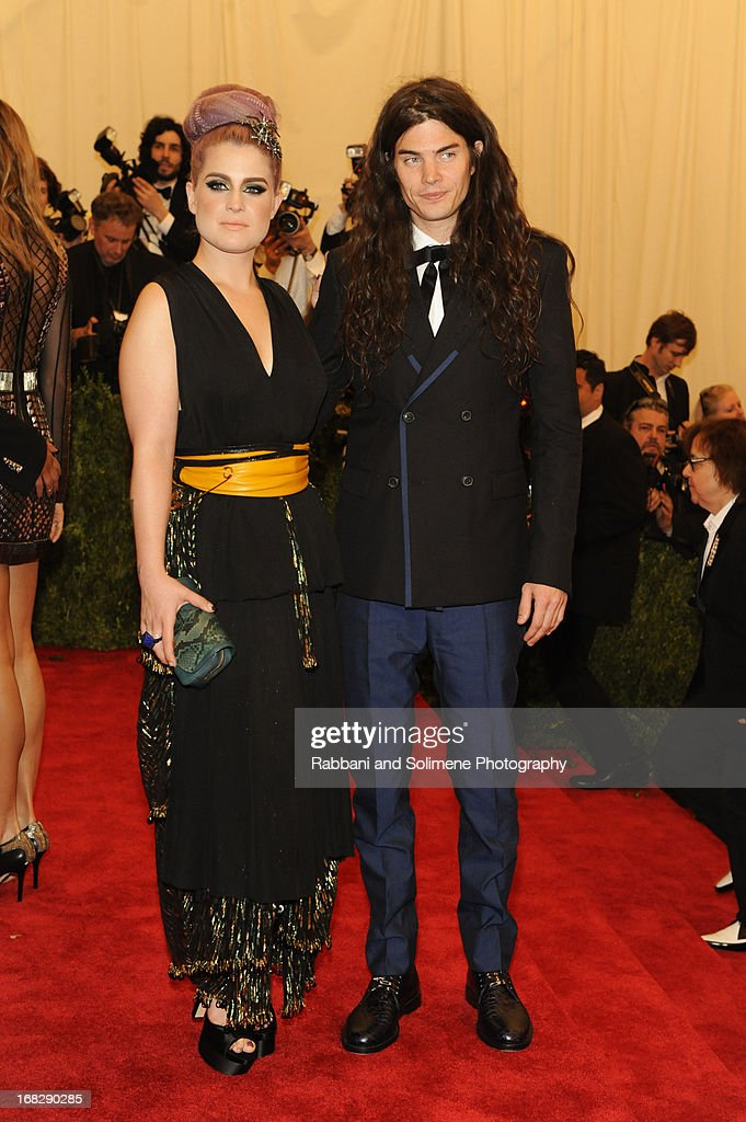 Kelly Osbourne and Matthew Mosshart attends the Costume Institute Gala for the 'PUNK: Chaos to Couture' exhibition at the Metropolitan Museum of Art on May 6, 2013 in New York City.