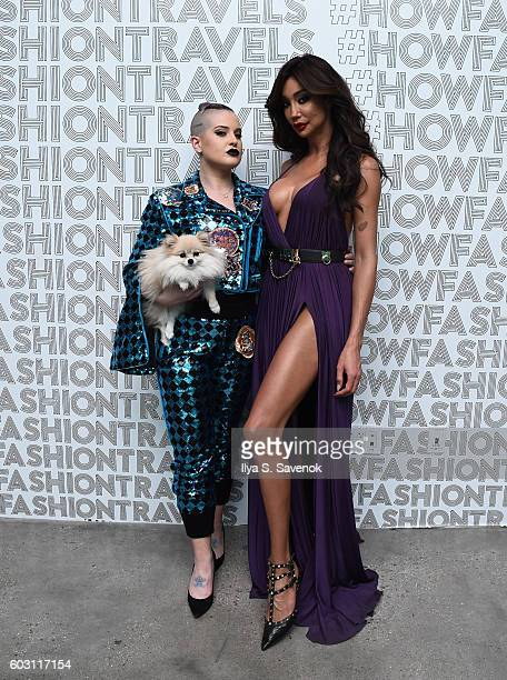 Kelly Osbourne and Yasmine Petty attend Lexus Lounge At MADE New York Day 5 at Milk Studios on September 11 2016 in New York City