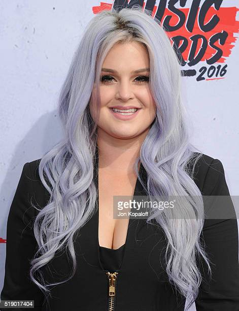Kelly Osbourne arrives at iHeartRadio Music Awards on April 3 2016 in Inglewood California