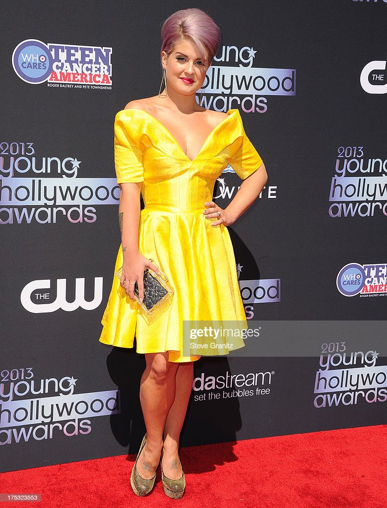 Kelly Osbourne arrives at the 15th Annual Young Hollywood Award at The Broad Stage on August 1, 2013 in Santa Monica, California.