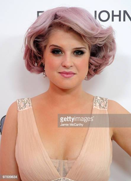Kelly Osbourne arrives at the 18th Annual Elton John AIDS Foundation Oscar party held at Pacific Design Center on March 7 2010 in West Hollywood...