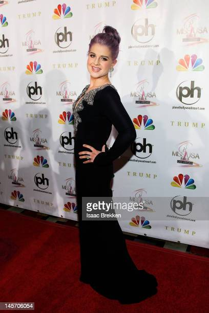Kelly Osbourne arrives at the 2012 Miss USA pageant the Planet Hollywood Resort Casino on June 3 2012 in Las Vegas Nevada