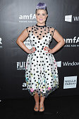 Kelly Osbourne arrives at the 2014 amfAR LA Inspiration Gala at Milk Studios on October 29 2014 in Hollywood California