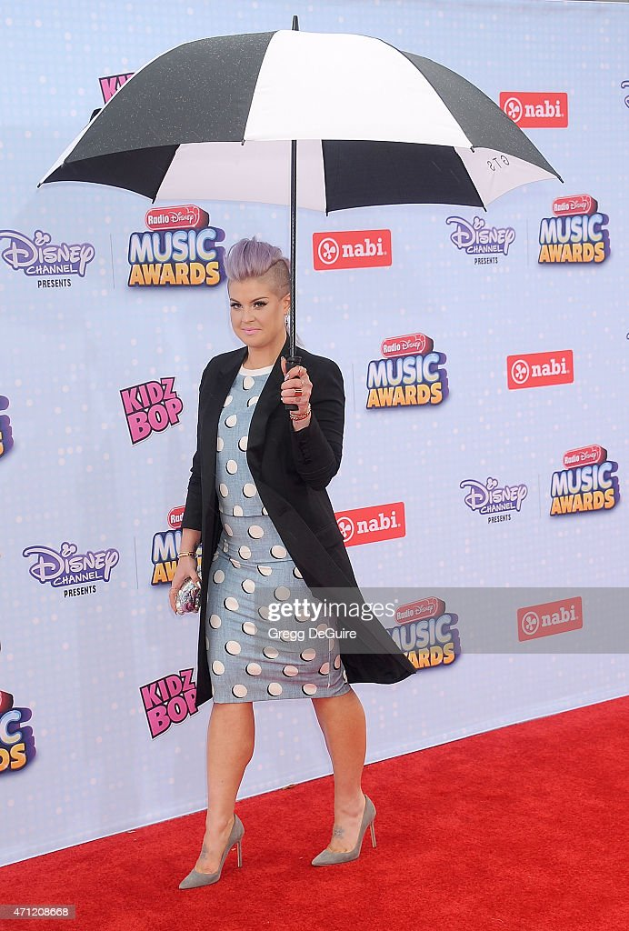 Kelly Osbourne arrives at the 2015 Radio Disney Music Awards at Nokia Theatre LA Live on April 25 2015 in Los Angeles California