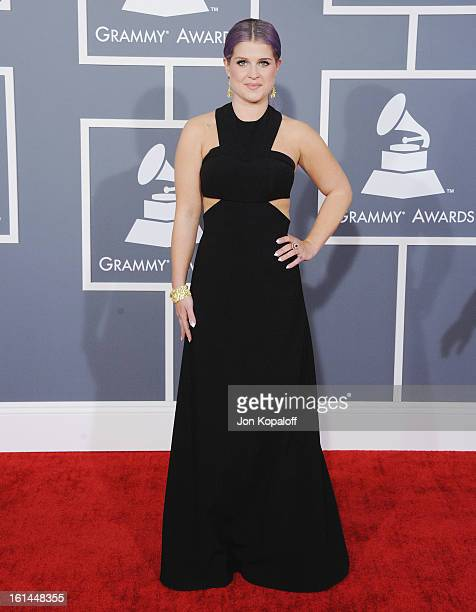 Kelly Osbourne arrives at The 55th Annual GRAMMY Awards at Staples Center on February 10 2013 in Los Angeles California