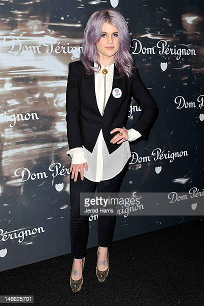 Kelly Osbourne arrives at the David Lynch cocktail party at Milk Studios on June 20 2012 in Hollywood California