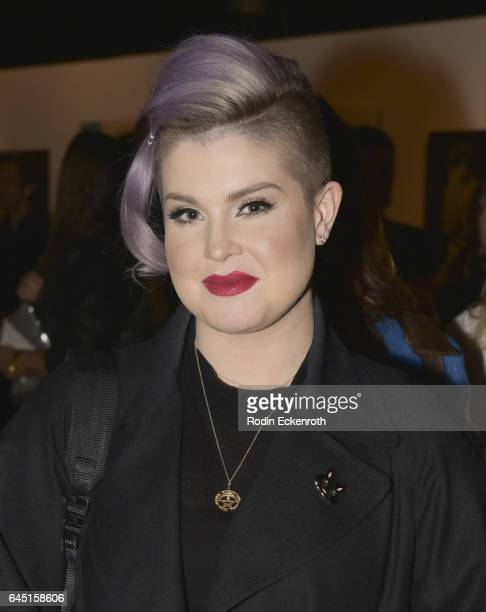 Kelly Osbourne attends Billy Morrison and Plastic Jesus's 'Anesthesia The Art Of Oblivion' opening reception at Gibson Brands Sunset on February 24...