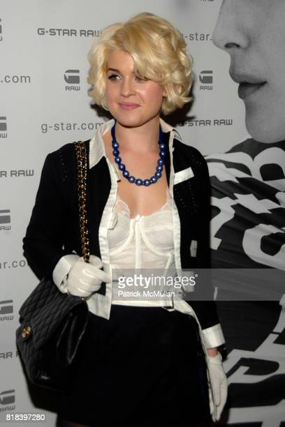 Kelly Osbourne attends GSTAR RAW Presents NY RAW Fall/Winter 2010 Collection Arrivals at Hammerstein Ballroom on February 16 2010 in New York City