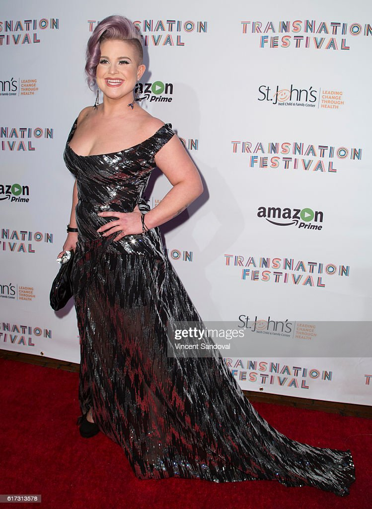 Kelly Osbourne attends the 15th Annual Queen USA Transgender Beauty Pageant at The Theatre at Ace Hotel on October 22, 2016 in Los Angeles, California.