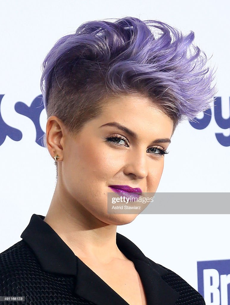 <a gi-track='captionPersonalityLinkClicked' href=/galleries/search?phrase=Kelly+Osbourne&family=editorial&specificpeople=156416 ng-click='$event.stopPropagation()'>Kelly Osbourne</a> attends the 2014 NBCUniversal Cable Entertainment Upfronts at The Jacob K. Javits Convention Center on May 15, 2014 in New York City.