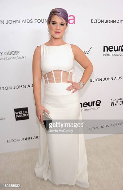 Kelly Osbourne attends the 21st Annual Elton John AIDS Foundation Academy Awards Viewing Party at West Hollywood Park on February 24 2013 in West...