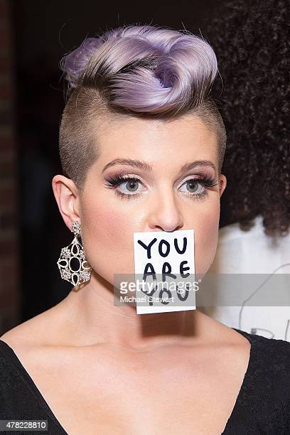 Kelly Osbourne attends the 4th Annual Solstice presented by amfAR's generationCURE at Hudson Hotel on June 23 2015 in New York City