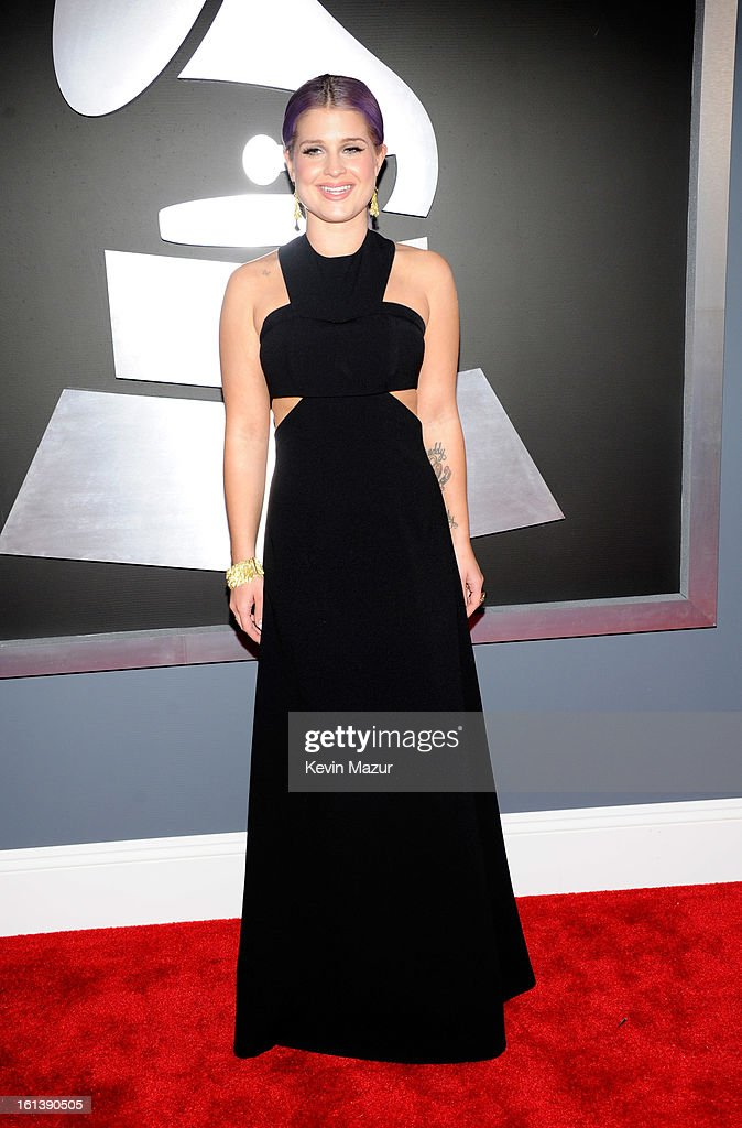 Kelly Osbourne attends the 55th Annual GRAMMY Awards at STAPLES Center on February 10, 2013 in Los Angeles, California.