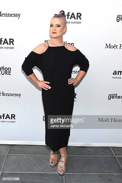 Kelly Osbourne attends the amfAR generationCure Solstice 2016 on June 21 2016 in New York City