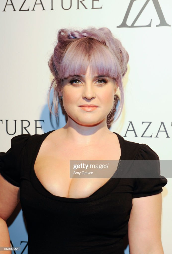 <a gi-track='captionPersonalityLinkClicked' href=/galleries/search?phrase=Kelly+Osbourne&family=editorial&specificpeople=156416 ng-click='$event.stopPropagation()'>Kelly Osbourne</a> attends the Black Diamond Affair Presented by Azature at Sunset Tower on October 8, 2013 in West Hollywood, California.