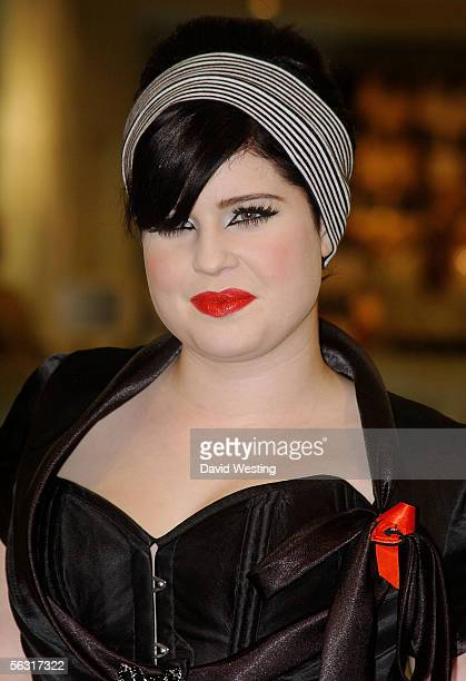 Kelly Osbourne attends the Celebrity Shopping Evening at TopShop Oxford Circus on December 1 2005 in London England The charity shopping evening is...