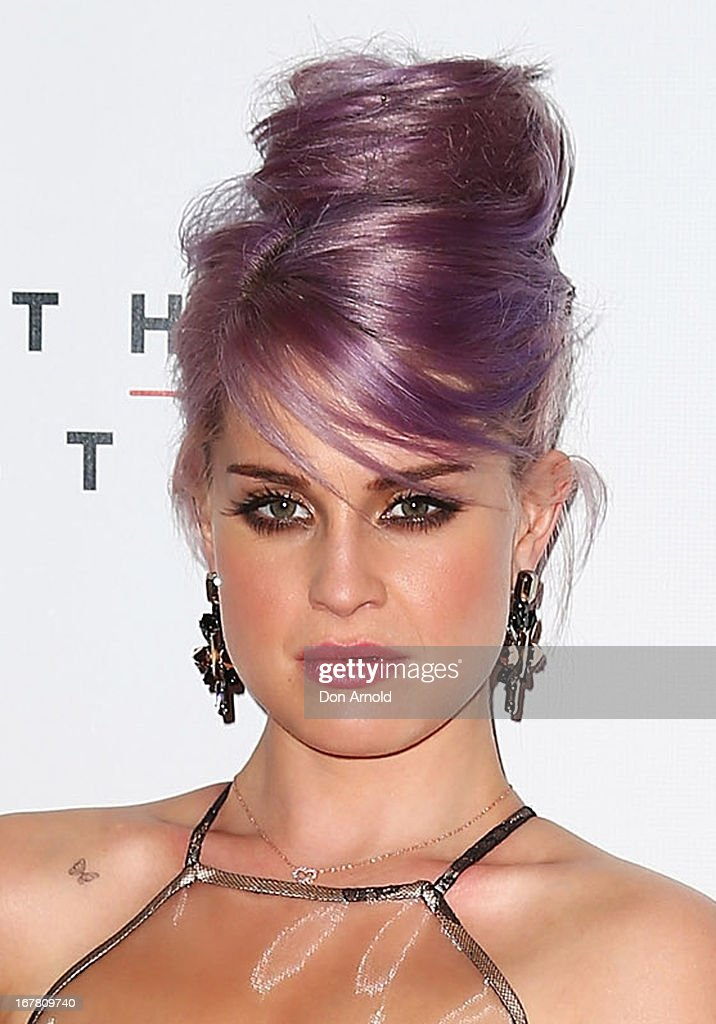 <a gi-track='captionPersonalityLinkClicked' href=/galleries/search?phrase=Kelly+Osbourne&family=editorial&specificpeople=156416 ng-click='$event.stopPropagation()'>Kelly Osbourne</a> attends the CLEO magazine relaunch party at The Star on April 30, 2013 in Sydney, Australia.