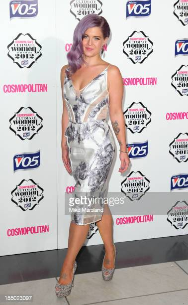 Kelly Osbourne attends the Cosmopolitan Ultimate Woman of the Year awards at Victoria Albert Museum on October 30 2012 in London England