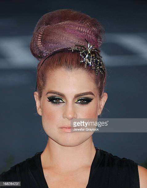 Kelly Osbourne attends the Costume Institute Gala for the 'PUNK Chaos to Couture' exhibition at the Metropolitan Museum of Art on May 6 2013 in New...