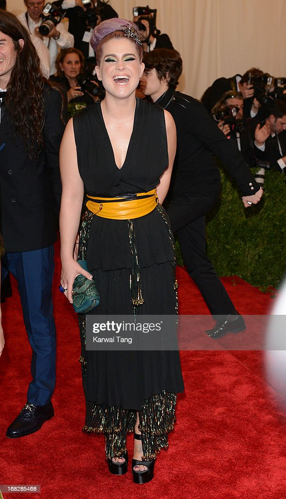 Kelly Osbourne attends the Costume Institute Gala for the 'PUNK: Chaos to Couture' exhibition at the Metropolitan Museum of Art on May 6, 2013 in New York City.