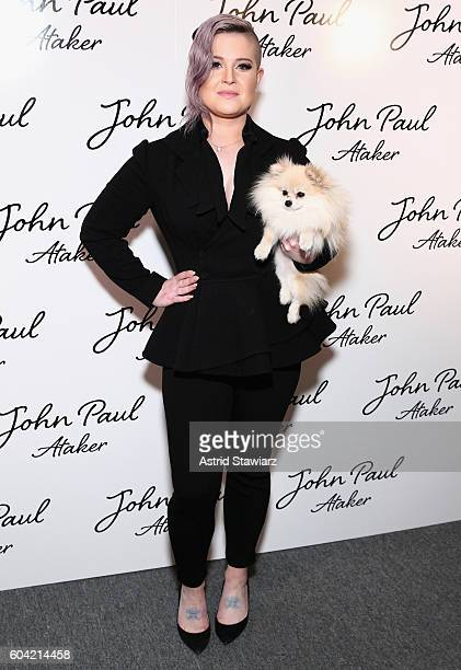 Kelly Osbourne attends the John Paul Ataker fashion show during New York Fashion Week The Shows at The Dock Skylight at Moynihan Station on September...