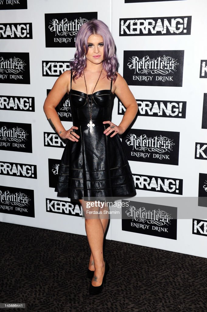 Kelly Osbourne attends the Kerrang! Awards at The Brewery on June 7, 2012 in London, England.