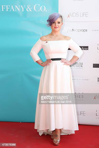 Kelly Osbourne attends the Life Ball 2015 first ladies lunch at Belvedere Palace on May 16 2015 in Vienna Austria The Life Ball an annual charity...
