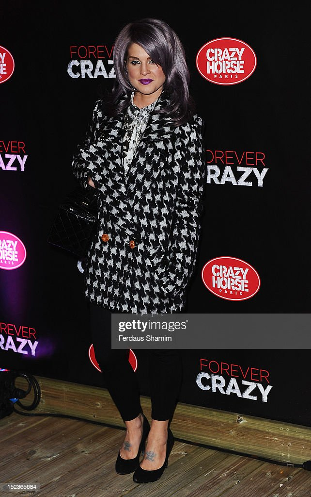 Kelly Osbourne attends the premiere of Crazy Horse on September 19, 2012 in London, England.