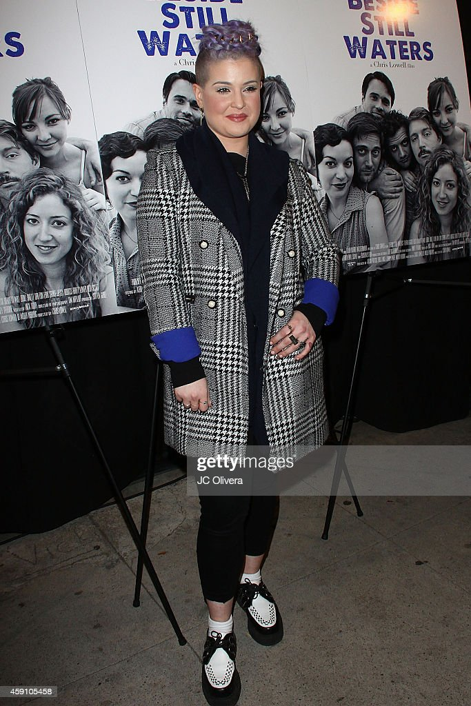 Kelly Osbourne attends the premiere of Tribeca Film's 'Beside Still Waters' at Laemmle's Music Hall Theatre on November 16 2014 in Beverly Hills...