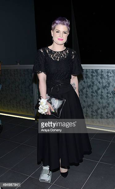 Kelly Osbourne attends the PROM 2014 A NIGHT OUT FOR TREVOR presented by the Trevor Project NextGen Los Angeles at Petersen Automotive Museum on May...