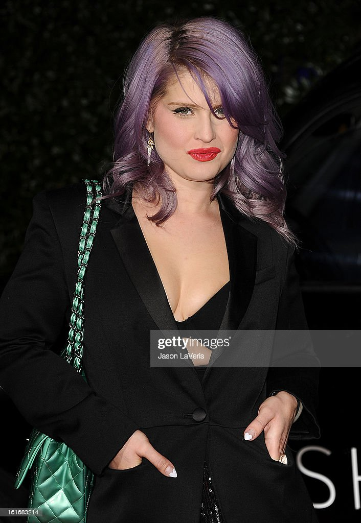 Kelly Osbourne attends the Topshop Topman LA flagship store opening party at Cecconi's Restaurant on February 13, 2013 in Los Angeles, California.