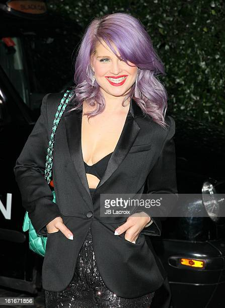 Kelly Osbourne attends the Topshop Topman LA Opening Party held at Cecconi's Restaurant on February 13 2013 in Los Angeles California