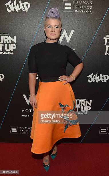 Kelly Osbourne attends W Hotels TURN IT UP FOR CHANGE Ball To Benefit HRC At W Hollywood at W Hollywood on February 5 2015 in Hollywood California